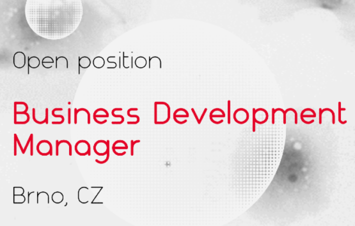 Open position: Business Development Manager