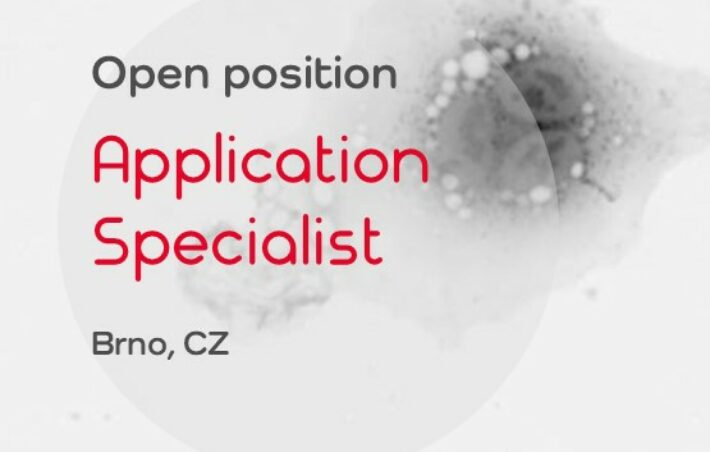 Open position: Application Specialist (Brno)