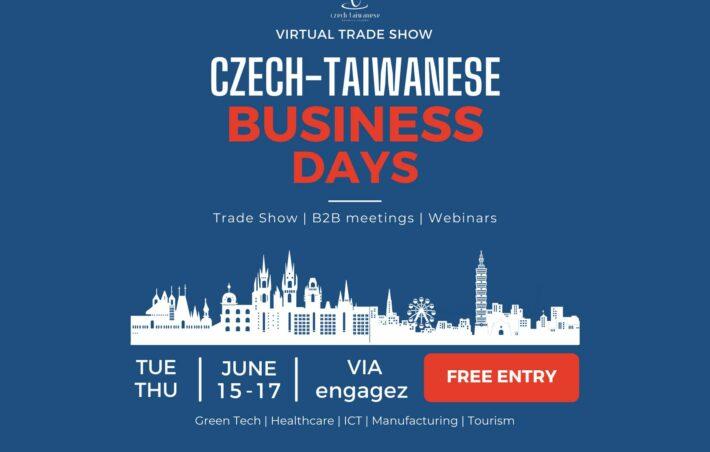 Czech-Taiwanese Business Days 2021