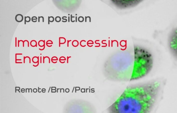 Open position: Computer Vision Engineer (Remote, CZ/FR)